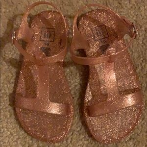 Sandals Jelly baby GAP Rose Gold Toddler Girl 10